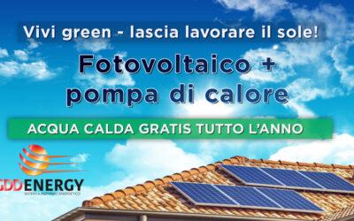 Promo Fotovoltaico più pompa di calore